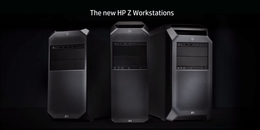 Le nuove workstation HP Z4/Z6/Z8