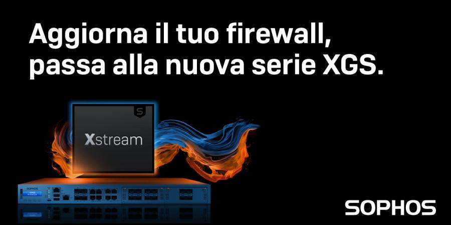 Webinar Sophos sul nuovo Firewall XGS